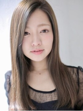 アグ ヘアー シルエ 和泉府中店(Agu hair silje)ツヤ髪が映える、大人ストレート