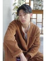 韓流系ナチュラルアップバングヘア