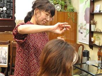 美容室 ズーム(ZOOM)の写真/【緑区/有松】イメージチェンジはお任せ下さい!!骨格や髪質に合わせたスタイルを提案してくれる♪