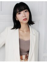 エアーオオサカ(air-OSAKA)【 air-OSAKA 】山本莉子 大人可愛い外ハネボブ