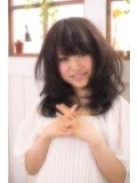 【miel hair blanc】フレッシュ☆フェミニンカール♪