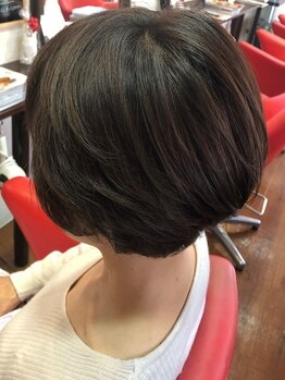 ヘアクリニック サロン プティの写真/厳選したアルガンオイル配合のオーガニックカラー使用♪染める度にハリ・コシのある健やかな髪へ…☆