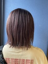 クブヘアー(kubu hair)《クブヘアー》春色ラベンダーピンクカラー