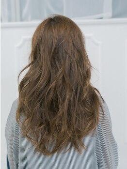 ラノヘアー(Lano hair)の写真/【丁寧なカウンセリングであなたに似合うパーマをご提案☆】最小限のダメージで柔らかな質感に♪