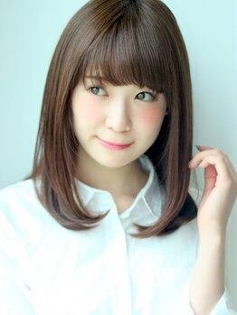 セレンディピティー アシィール(SERENDIPITY Asi-r)の写真/《フローディアトリートメント》でサラッと軽くするんとまとまる艶髪に*香りも良く施術しながら癒される♪