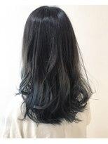 サラ ニジュウイチ ビューティーサイト(SARA21 Beauty Sight)裾ハイライトカラー ブルーver
