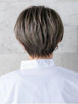 アッシュケイン(ash kein)の写真/クールからフェミニンまで多様なスタイルに♪【N.×髪色持続】360度どこから見ても美しいシルエットを実現!