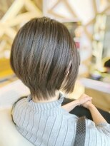 ソアンヘアー(SOAN hair)レイヤーショート スタイル