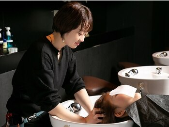 サラヤマグチ(SARA YAMAGUCHI)の写真/頭皮の汚れ・ダメージ・乾燥・たるみ改善・疲労回復はSARAにお任せ☆高い技術と最高級の特別空間が◎