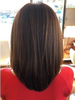 ヘアクリニック サロン プティの写真/髪の内側から潤いを感じる≪フローディア≫取扱店♪軽いのに毛先までするんとまとまるツヤ髪が叶う☆