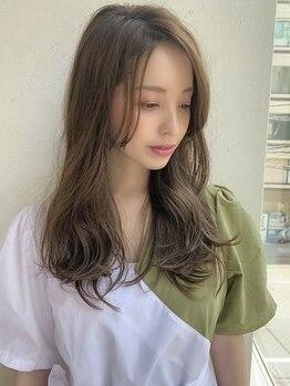 ニーフ 恵比寿(neaf)の写真/200種類以上の薬剤から一人ひとりの髪質に合わせたカラーでダメージを抑え、艶やかな仕上がりに★