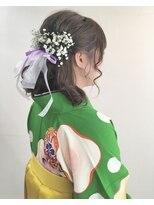 卒業式ヘアセット kasumisou