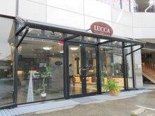 ルッカヘアー(LUCCA HAIR'S)の雰囲気(静かな環境にあるのでガラス張りでも人目は気になりません。)