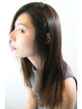 グリームス ヘアデザイン(GLEAMS Hair Design)【傷ませない】ダメージレスストレート×グレージュ★山本