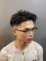 ラピス シブヤ 渋谷(Lapis)七三パーマ