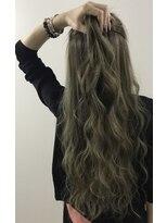 ヘアアンドメイク リー アッセンブラージュ(Hair&Make Re ~assemblage~)#ダークアッシュ#プルエクステ#夏ヘア#夏カラー#外国人風