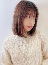 アグ ヘアー バズ 釧路鳥取大通店(Agu hair buzz)《Agu hair》大人かわいいストレートボブ