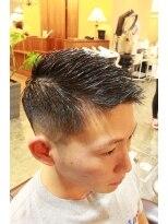 ディスパッチヘアー 甲子園店(DISPATCH HAIR)七三パート×ローフェード
