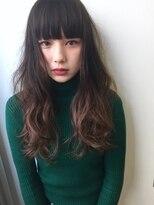 ☆blues☆オン眉無造作ウェーブ・低温デジタルパーマ・春パーマ
