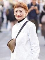 【えがお美容室】50代60代に人気☆個性的ベリーショート