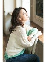 ミンクス 銀座店(MINX)【MINX土屋】モデル井川遥さん風!穏やかニュアンスカールロング