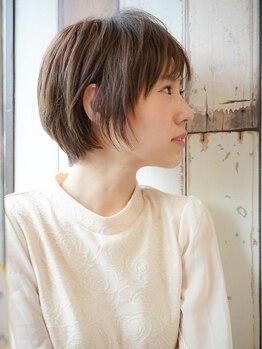 ルアナ(LUANA)の写真/ショートヘアもスタイリングしやすいようにカットしていくので、お洒落なアレンジも可能になる!