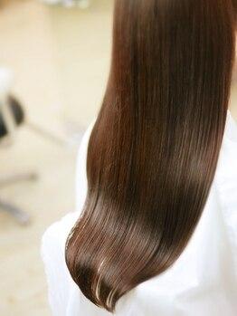 """ヘアケアアンドスパ レポ(REPO)の写真/""""髪本来の美しさを取り戻したい""""その願いを叶える為、研究を重ねて完成《超修復メニュー ナノリペア》"""