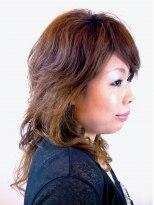 イーヘアーシード 蒲田(E Hair SEED)デジタルパーマでふんわり巻き髪スタイル