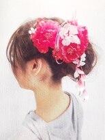クラメール 黒崎コムシティ店(Kraemer)ブルーノがご提案する浴衣にあったヘアスタイル