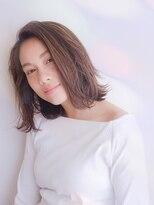 ムーン(moon)艶髪☆ 大人カジュアル切りっぱなしボブ【moon 武蔵小杉】