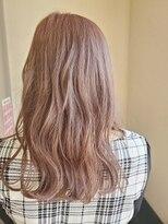 ユアーズ フォー ヘアー 郡山(Yours for hair)ピンクグレージュー ダブルカラー