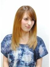 ヘアーメイク ライブリー(Hair make Lively)クールグラデーションカラーストレート