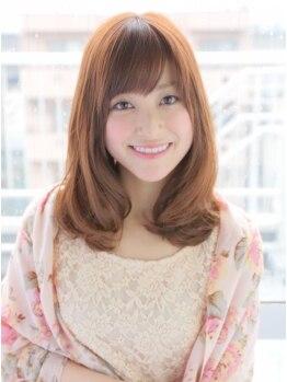 アニモ 吉川店(animo)の写真/カラー前の徹底したケアで、毛先まで潤いたっぷりでキレイな仕上がり!持続性も◎