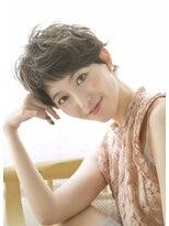 ロンドフルール 大宮東口(Lond fleur)【Lond fleur】カジュアルショートのデザインカラー