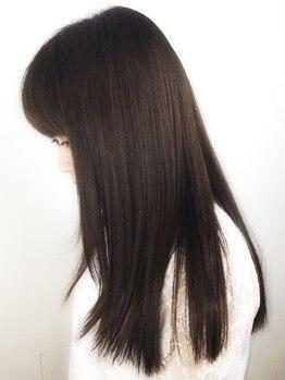 リンク 海老名店(Link)の写真/話題のTOKIOで毛先までしっかりケア★驚きの指通りと理想の色合いでどこから見ても満足できる潤ツヤ髪に♪