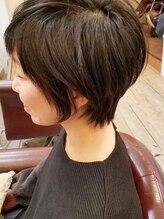 ルモ ヘアー 泉佐野ベイエリア店(Lumo hair)大人可愛いショートボブ