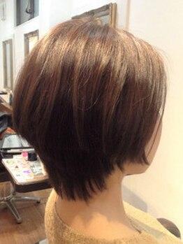 ヘア ルシェ(hair ruscha)の写真/【カット¥3100】丁寧なカウンセリングとカット技術で創るトレンドスタイルが、自宅でも簡単に再現できる☆