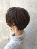 【表参道×長岡】前髪のバランスが絶妙なショートカット