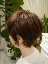 ヘアー カラー キー(HAIR color KEY)濡れ髪エッジィショート<NO.3>