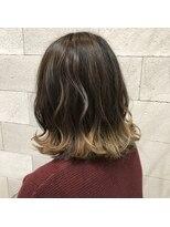 ヘアメイク アプト コンビネーション(HAIR MAKE apt combination)suso カラー
