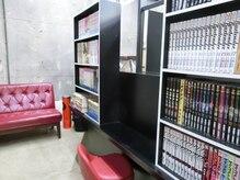 サロン プラチノ(salon PRATiNO)の雰囲気(ロングメニューの方が多い為、店内は漫画が充実しております♪)