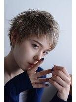 無造作ショート X 小顔【shine beige】 #2