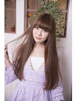 【miel hair blanc】シャイニー♪ストレート☆