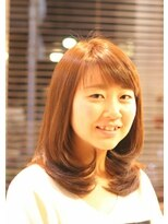 ローグヘアー 亀有店(Rogue HAIR)タラレバ榮倉奈々ちゃん風サイドレイヤー