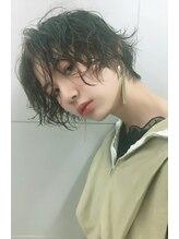キワ トウキョウ(kiwa tokyo)ピアス×濡髪×カール