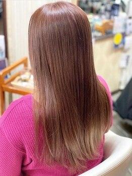 ヘアーメイク リボーン ムーヴ(hair make re:bbon move)の写真/『marbb』使用で髪と頭皮を素に戻し、髪のアクアバランスを整えることでクセを抑えたまとまりやすい髪に☆