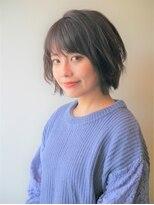 リマヘアー(lima hair)丸み大人かわいいショートボブ
