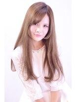 レセ 新松戸駅前店(Laissez)可愛いハイトーンロング 【レセ新松戸駅前店】