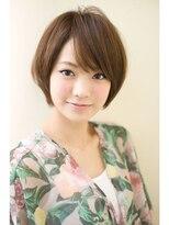 ジョエミバイアンアミ(joemi by Un ami)【joemi】カットだけでOK☆広がらない小顔ショートカット:大島