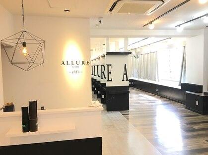 アリュールヘア 梅田茶屋町店(ALLURE hair elfi)の写真